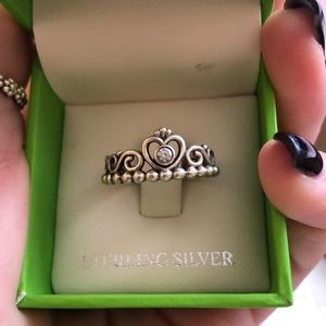 Pandora princess ring.